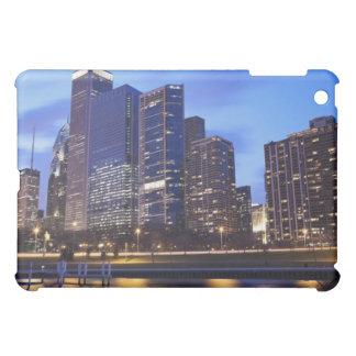 USA, Illinois, Chicago, City skyline of Randolph iPad Mini Covers