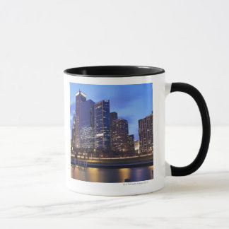 USA, Illinois, Chicago, City skyline of Randolph Mug