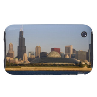 USA, Illinois, Chicago, City skyline with Adler Tough iPhone 3 Cases