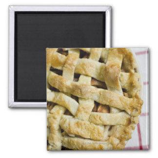 USA, Illinois, Washington, Apple pie Square Magnet