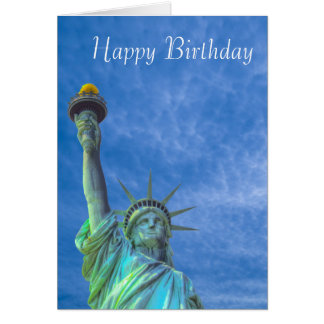 USA Image for birthday-greeting-card Card