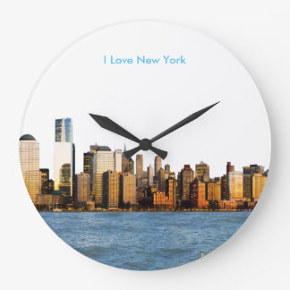 USA image for Round-Large-Wall-Clock Clock
