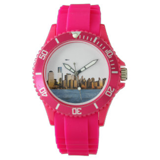 USA image for Sporty-Pink-Silicon Wrist Watch