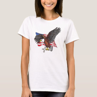 USA In God We Trust Eagle T-Shirt