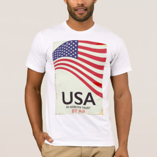 "USA ""In god we Trust"" vintage poster T-Shirt"
