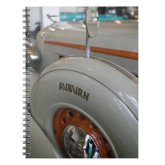 USA, Indiana, Auburn: Auburn, Cord, Duesenberg 13 Spiral Notebooks