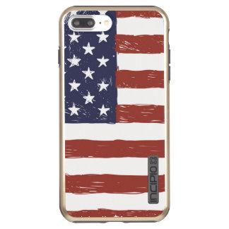 USA iPhone 7 Plus DualPro Shine, Gold Incipio DualPro Shine iPhone 7 Plus Case