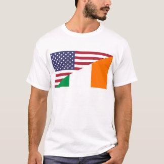 USA/Ireland Flag T-Shirt