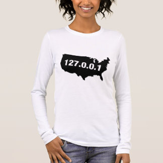 USA Is Home Programmer Long Sleeve T-Shirt