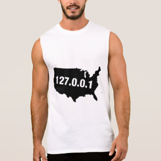 USA Is Home Programmer Sleeveless Shirt