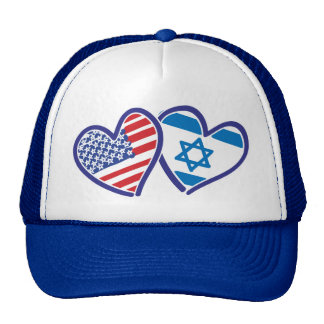 USA---Israel-Love-final Trucker Hat