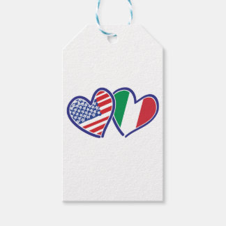 USA---Italy-Love Gift Tags