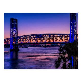 USA, Jacksonville, Florida Postcard