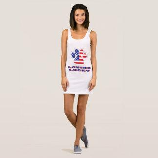 USA Jersey Tank Dress