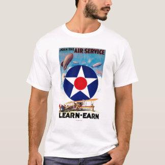 USA - Join the Air Service Learn-Earn T-Shirt