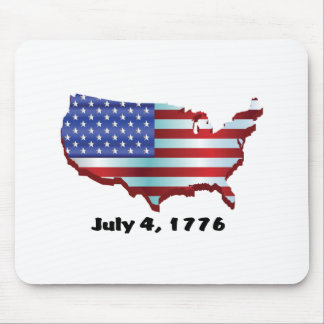 USA july 4 1776 Mouse Pad
