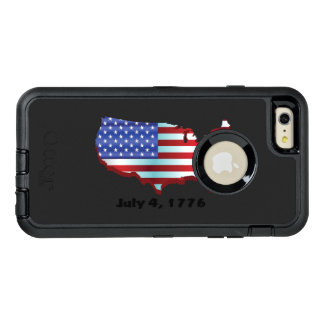 USA july 4 1776 OtterBox iPhone 6/6s Plus Case