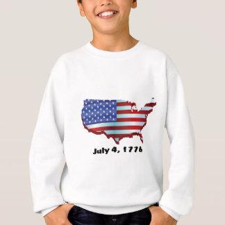 USA july 4 1776 Sweatshirt