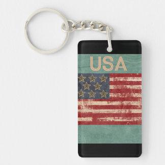 USA Keychain Souvenir