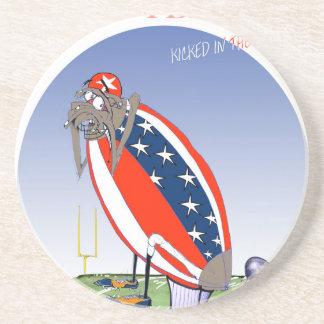 USA kicked in the grass, tony fernandes Coasters