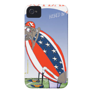 USA kicked in the grass, tony fernandes iPhone 4 Case-Mate Cases