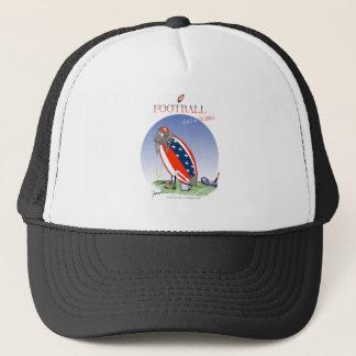USA kicked in the grass, tony fernandes Trucker Hat