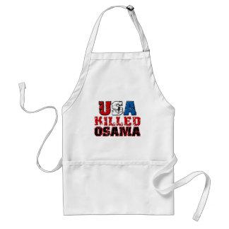 USA Killed Obama copy Standard Apron