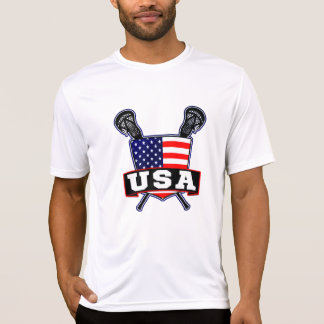 USA Lacrosse Logo T-Shirt