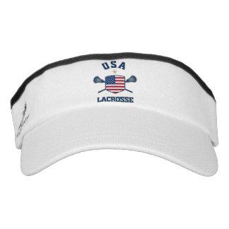 USA Lacrosse Visor Hat