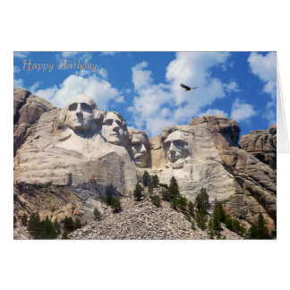USA Landmark image for Birthday-greeting-card Card