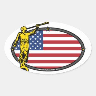 USA LDS Mission Oval no Label