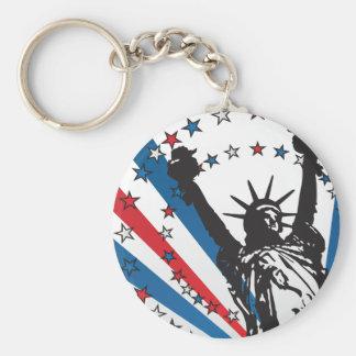 USA Liberty Keychain
