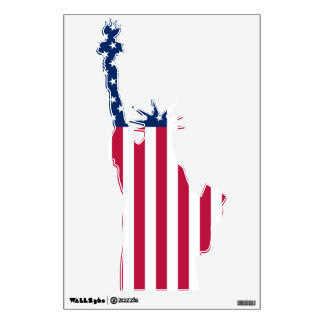 usa liberty wall sticker