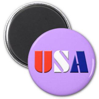USA - (light purple) Magnet