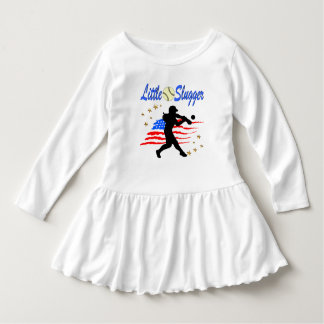 USA LITTLE SLUGGER SOFTBALL GIRLS DESIGN DRESS