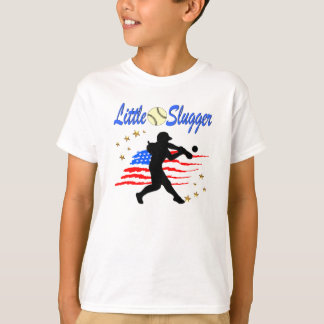 USA LITTLE SLUGGER SOFTBALL GIRLS DESIGN T-Shirt