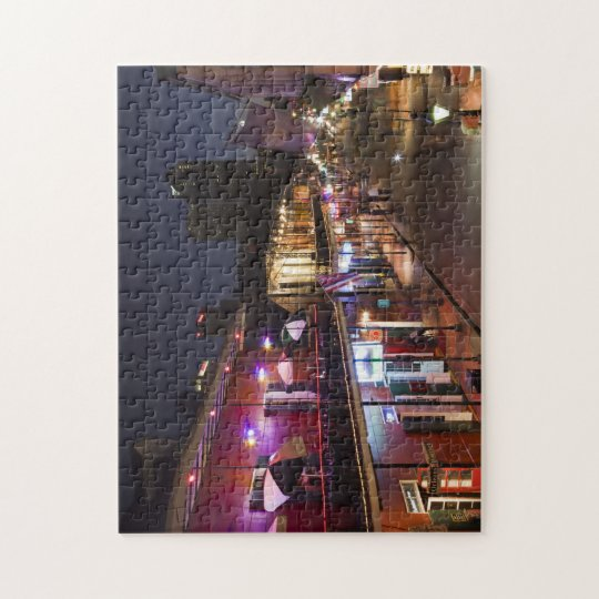 USA, Louisiana, New Orleans. French Quarter Jigsaw Puzzle