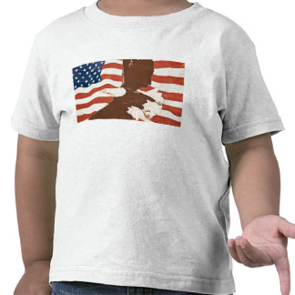 USA Louisiana Port Allen Patriotic mural T Shirts