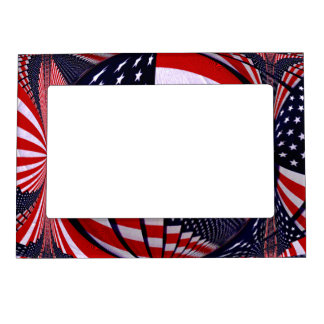 USA Love_ Magnetic Photo Frames