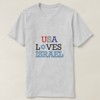 USA Loves Israel T-Shirt