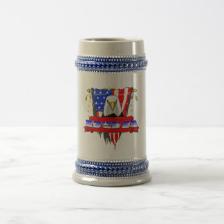 USA Mad Eagle Beer Stein