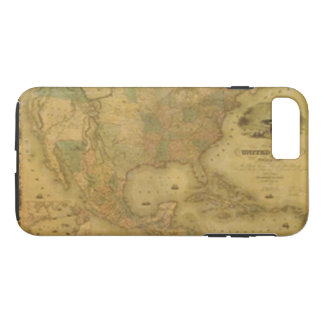 USA Map iPhone 7 Case