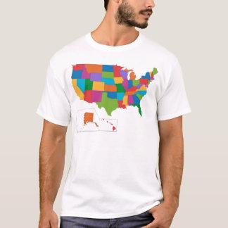 USA map T-Shirt