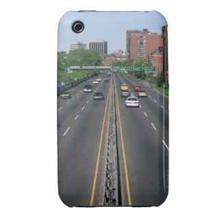 USA, Massachusetts, Boston, traffic on Storrow iPhone 3 Case-Mate Case