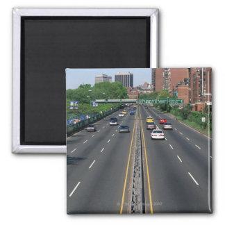 USA, Massachusetts, Boston, traffic on Storrow Magnet