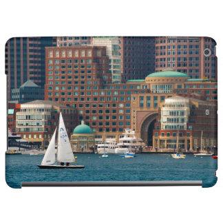 USA, Massachusetts. Boston Waterfront Skyline 2 Cover For iPad Air