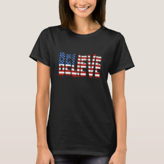 USA Men's Soccer BELIEVE T-shirt
