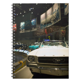 USA, Michigan, Detroit: Ford Rouge Factory Tour, Spiral Notebook