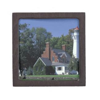 USA, Michigan, Lake Huron. Port Sanilac Premium Gift Box