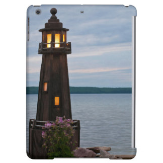 USA, Michigan. Yard Decoration Lighthouse Case For iPad Air